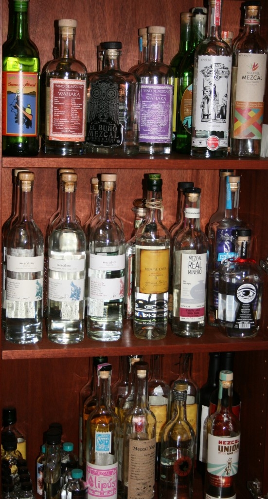 Stash 'em where you can - about another 50 bottles