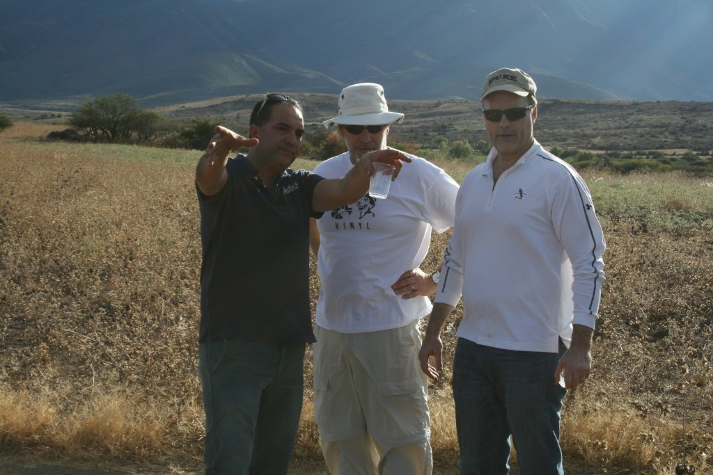 Ilegal Producer Eric Hernandez Explaining the Finer Points of Mezcal Making